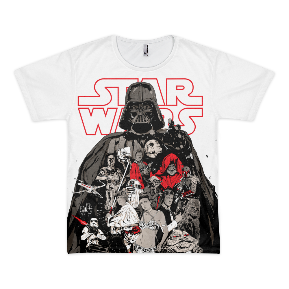 Star Wars Bad One LA Apparel Sublimation T-Shirt