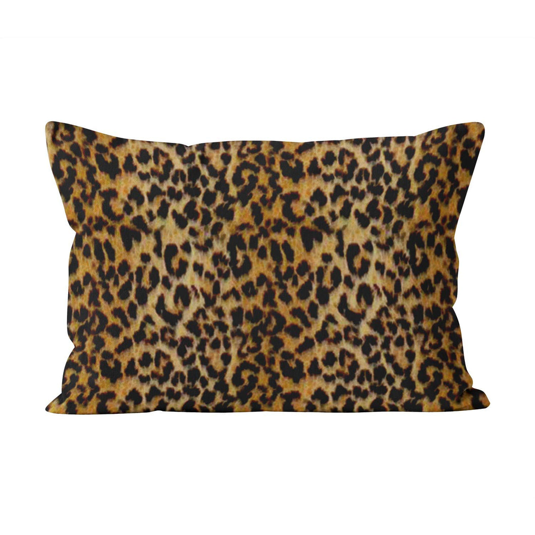 Skully Hot Lumbar Leopard Skin Animal Print Hidden Zipper Home Decorative Rectangle Throw Pillow Cover Cushion Case 12x24 inch One Side Design Printed Pillowcase