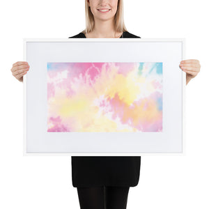 Customize your Design-Matte Paper Framed Poster With Mat - Amira Fine Art