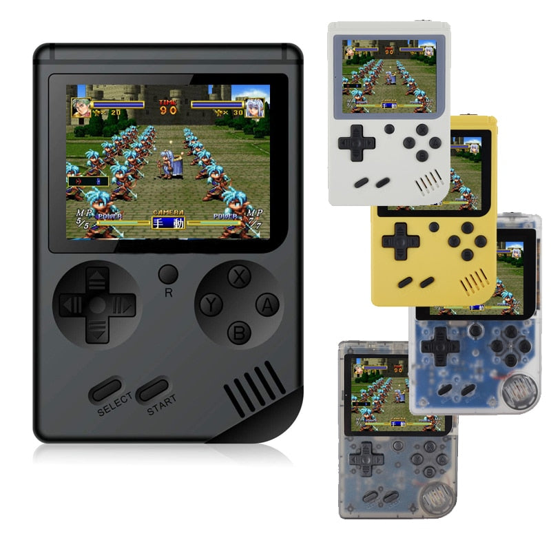 Retro Mini Portable Handheld Game Console Players 3.0 Inch 168 Built In Classic-FC Games Handheld Game player