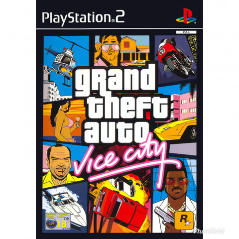Grand Theft Auto Vice City – PS2