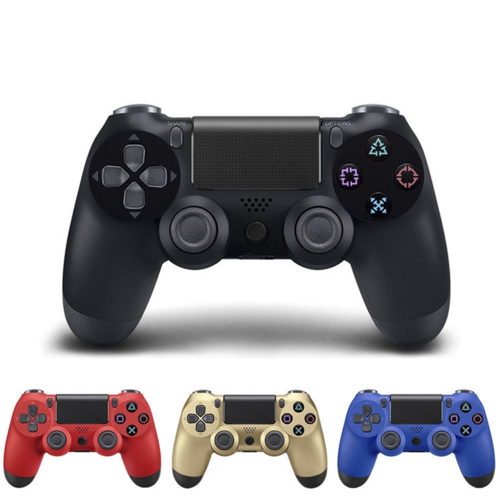 PS4 Wireless Bluetooth Game Controller Wireless Game Handle Vibration Band Touch Handwriting Function Gamepad