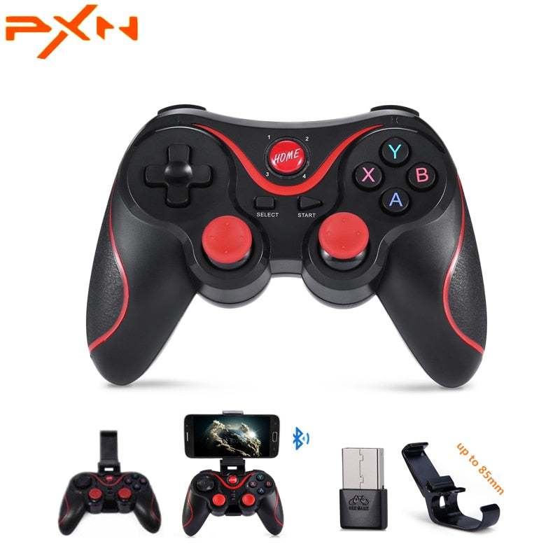 PXN T3 X3 Wireless Bluetooth Gamepad Game Controller Game Pad for iOS Android Smartphones Tablet Windows
