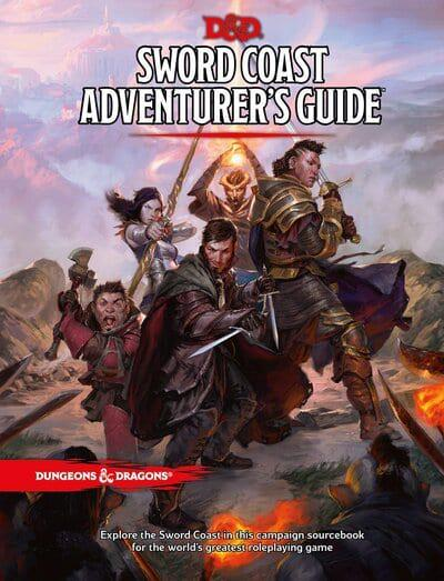 Sword Coast Adventurers Guide - 5th Edition Dungeons & Dragons