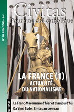 Revue 20: La France (1), actualité du Nationalisme