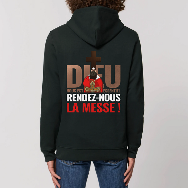Sweat - Rendez nous la messe - impression dos