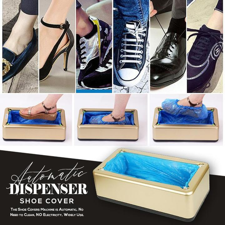 Automatic Shoe Cover Dispenser (100 PCS)