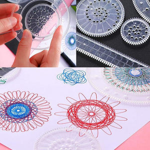 Flowers Magic Ruler Set