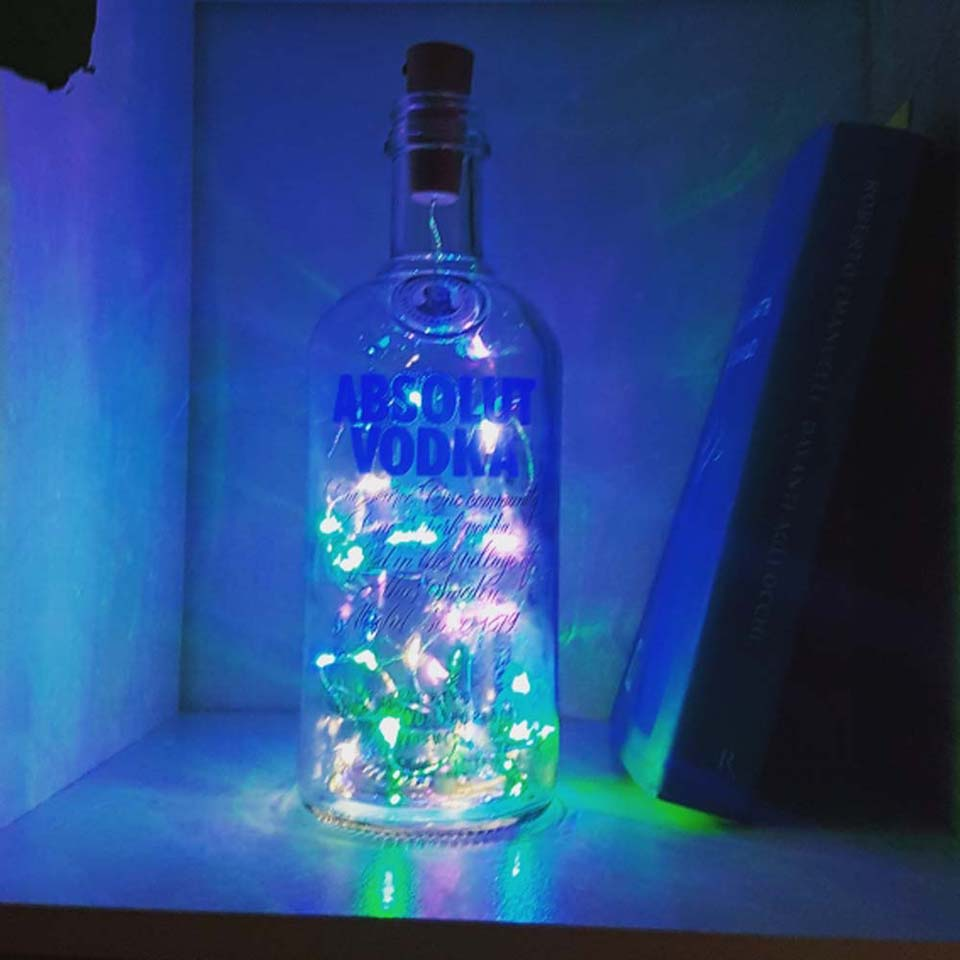 6 PCS Wine Bottle lights