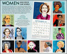 Load image into Gallery viewer, Women Who Rock Our World Calendar, 2021