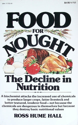 Food for Naught: The Decline in Nutrition