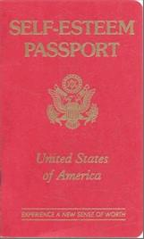 Self-Esteem Passport - 32 pages - hardcopy $10