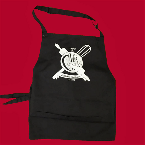 Apron, Ms. Cupcake, Branded, Black