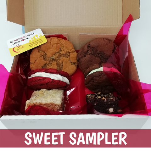 Vegan Cake Winter Sweet Sampler
