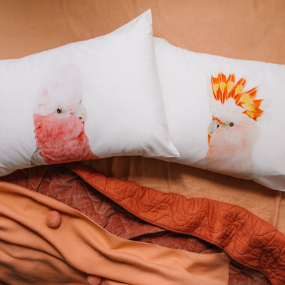 Gary the Galah Pillowcase - For Me By Dee