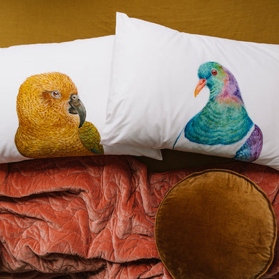 Kai the Kea Pillowcase - For Me By Dee