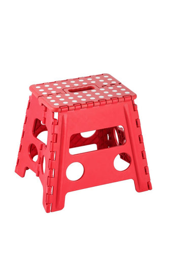 Large Step Stool - Red