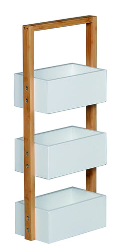 3 Tier Bamboo + MDF Caddy**