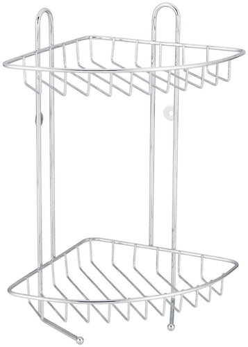 2 Tier SS  Corner Shower Caddy**