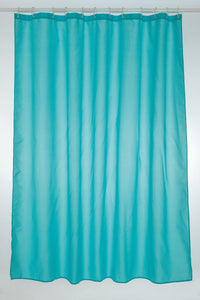 Blue Polyester Shower Curtain 180x180cm