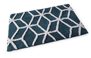 Geometric Bath Mat Cotton**