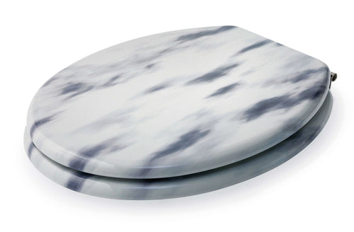 Madison Toilet Seat Marble Effect**