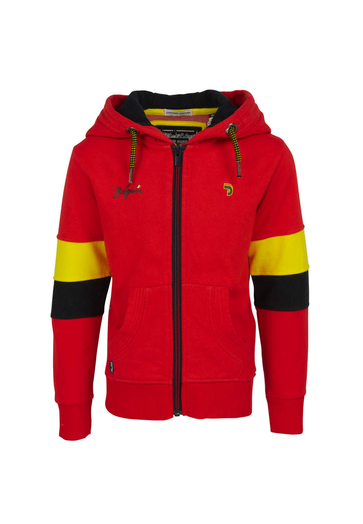 Sweatshirt Enfant Collector 01 Red Belgium