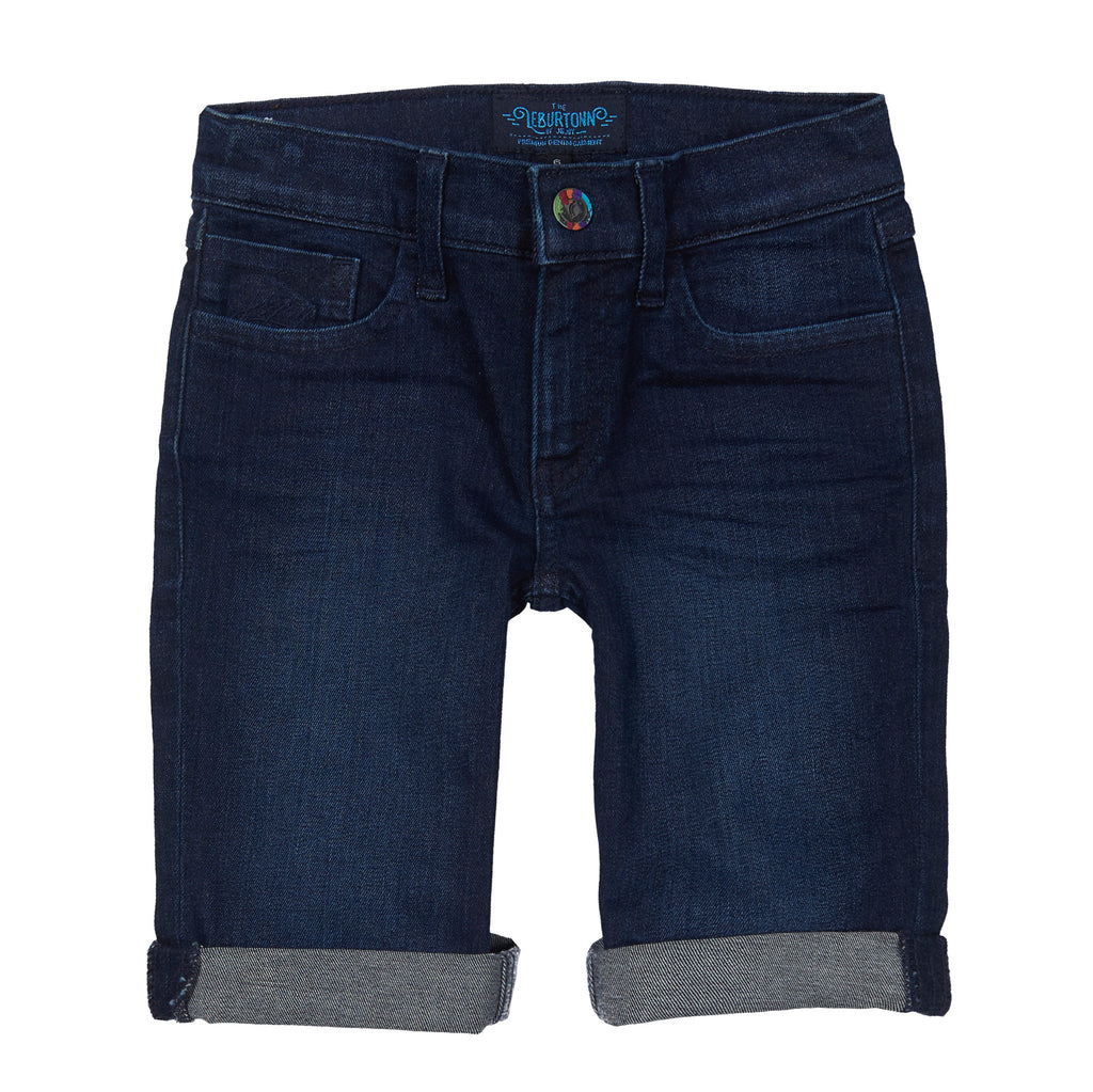 Short Denim Garçon 01 Dark Blue