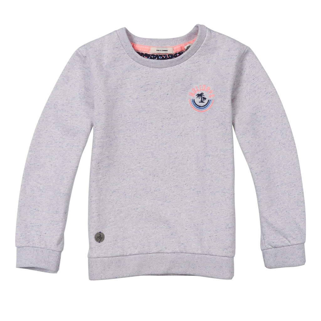 jandjoy | Sweatshirts - Sweat Fille 06 Sunny Day Rainbow Light Blue.