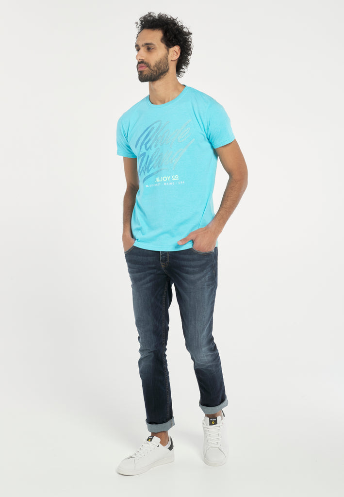 T-Shirt Homme 06 Rhode Turquoise
