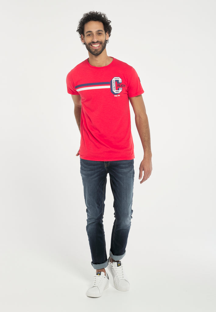 T-Shirt Homme 21 Costa Rica Red