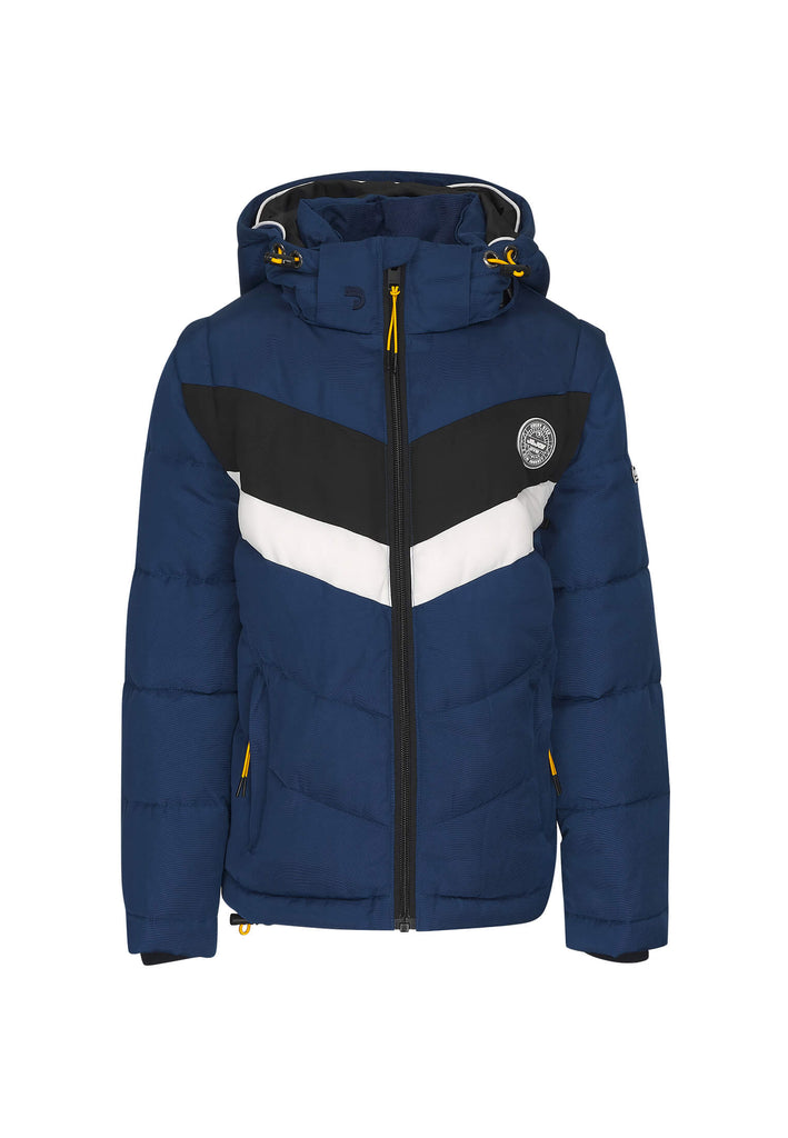Veste Garçon 01 Fisherman Blue Electric