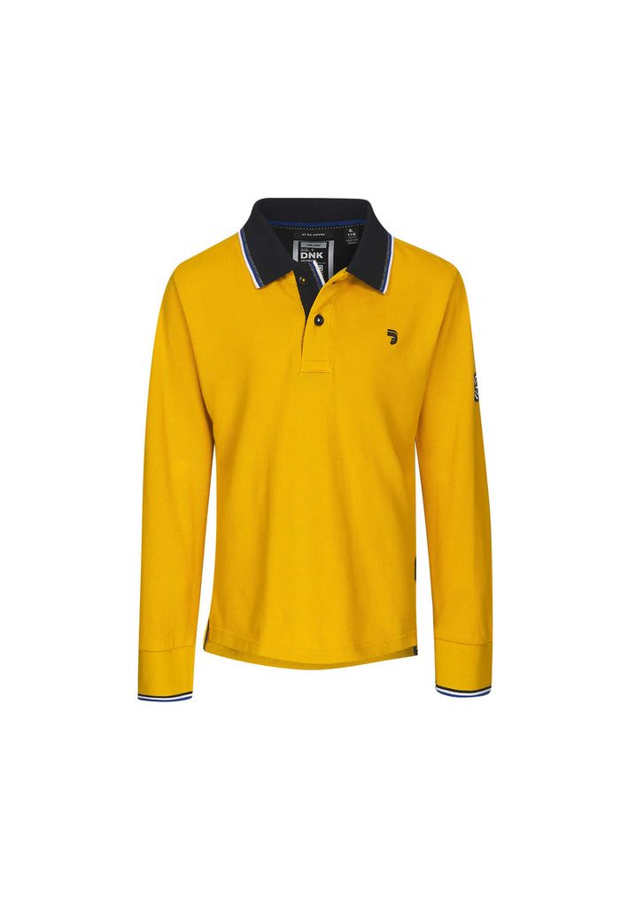 jandjoy | Polos - Polo Garçon 01 Fisherman Yellow.