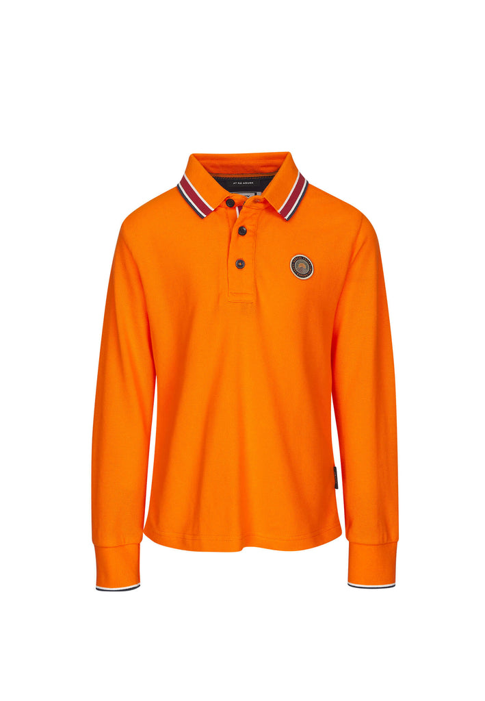 Polo Garçon 20 Boreal Orange