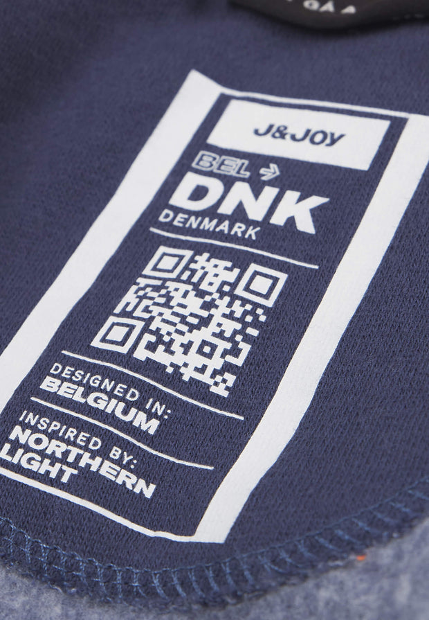 Sweatshirt Garçon 04 Nyhavn Blue Dark Denim
