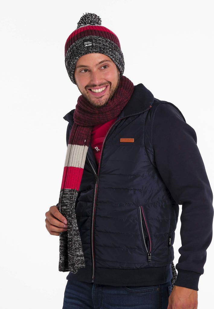 Bonnet Homme 03 Hygge Grey Bordeau