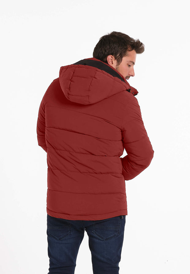 Veste Homme 06 Hygge Rust Polyfillvest With Knitte
