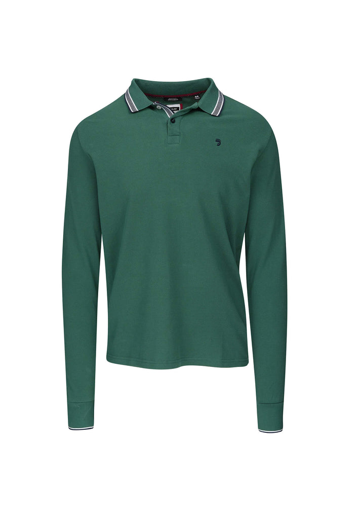 Polo Homme 25 Fjord Green Longues Manches