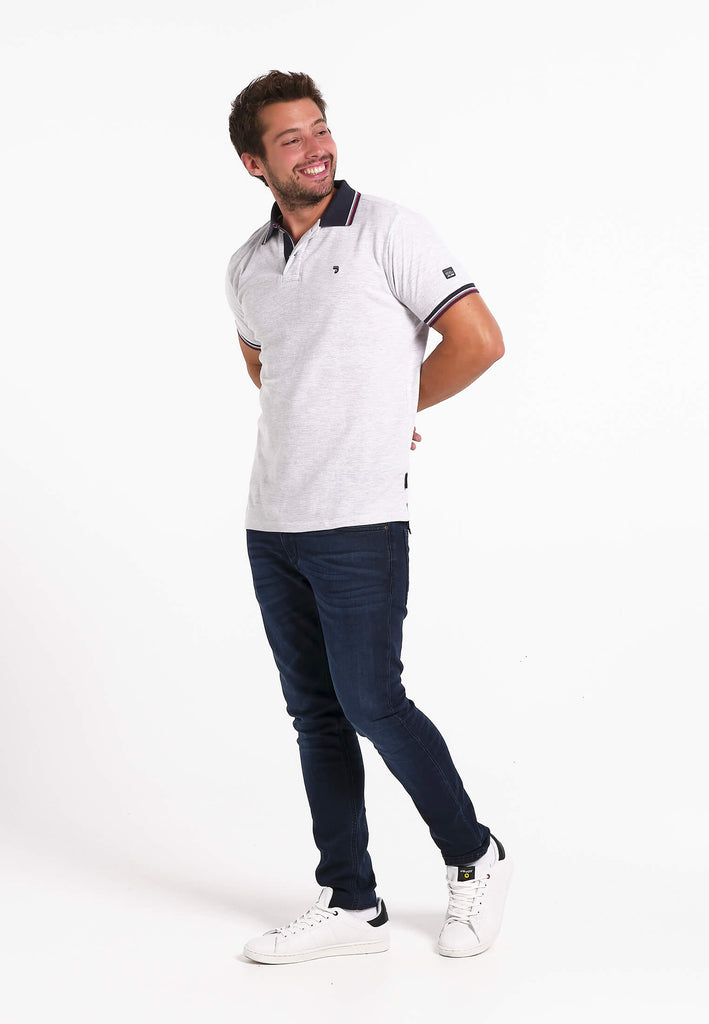 jandjoy | Polos - Polo Homme 26 Fjord Light Grey.