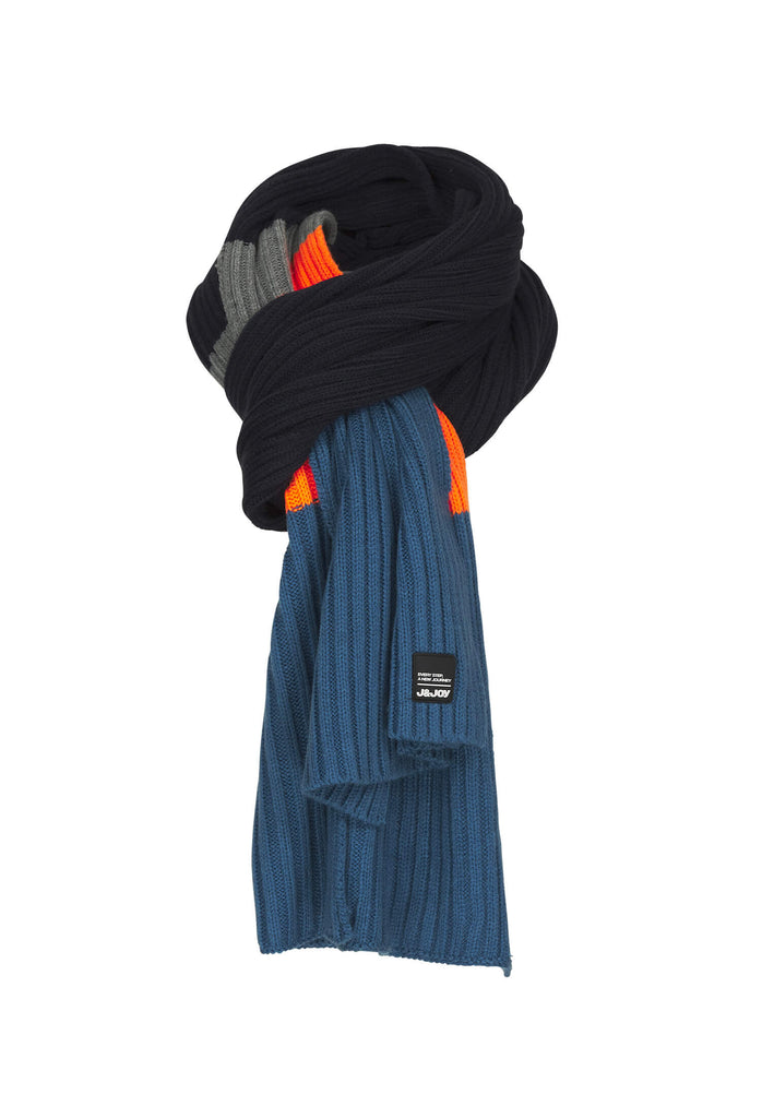 Echarpe Homme 01 Nyhavn Blue Orange
