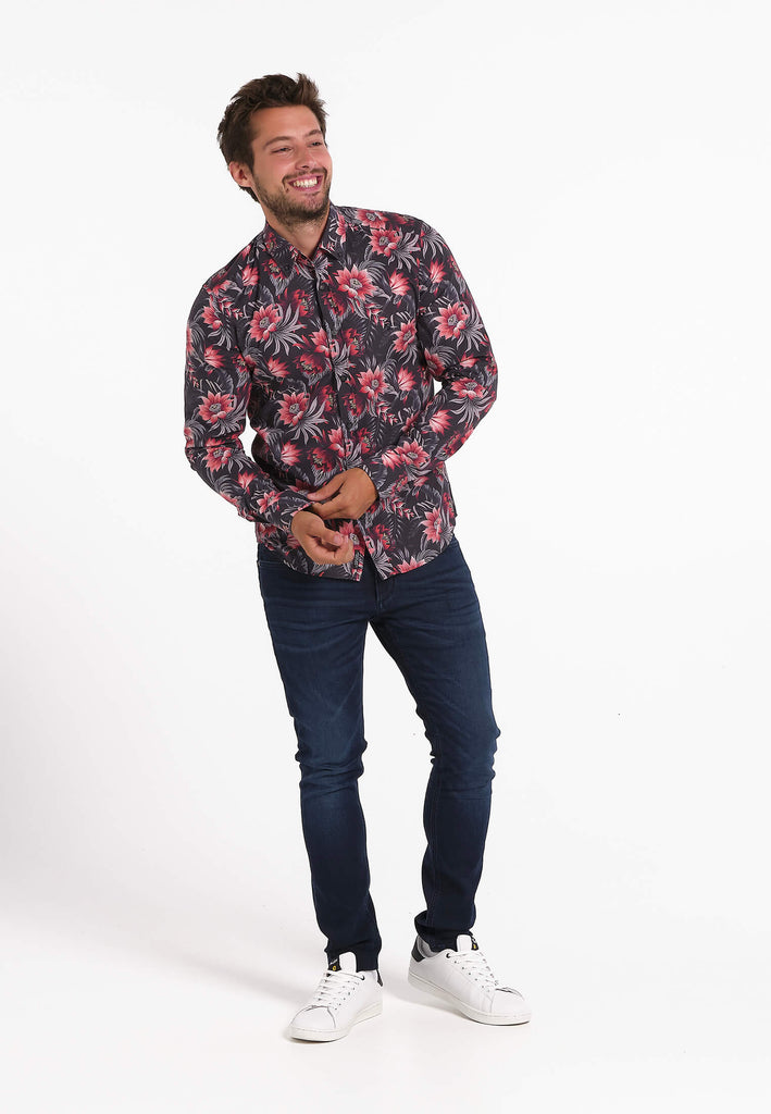 jandjoy | Chemises - Chemise Homme 08 Hygge Floral.