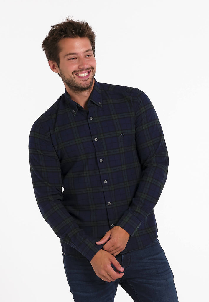 Chemise Homme 12 Fjord Flannel Check