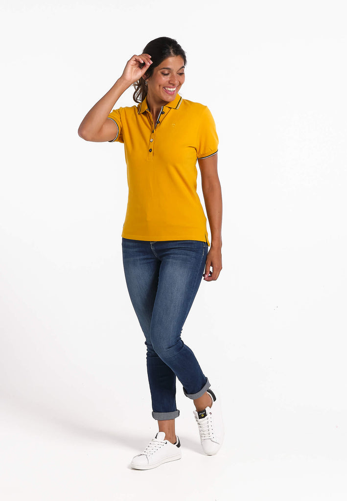 Polo Femme 03 Sea Side Yellow