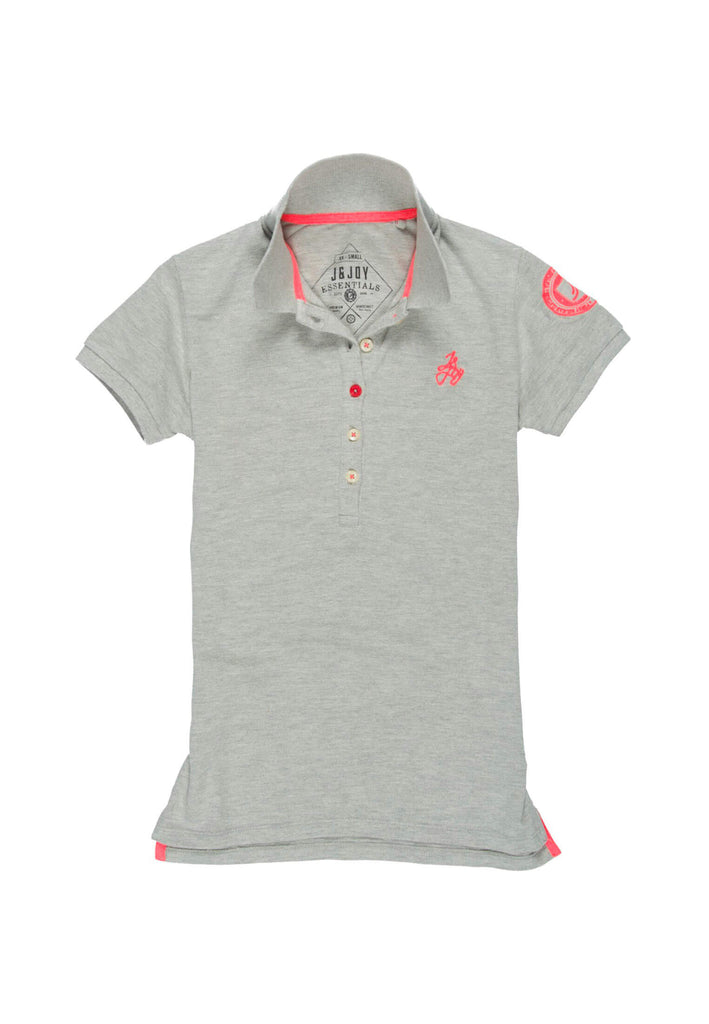 Polo Essentials Femme 09 Pish Grey | J&JOY