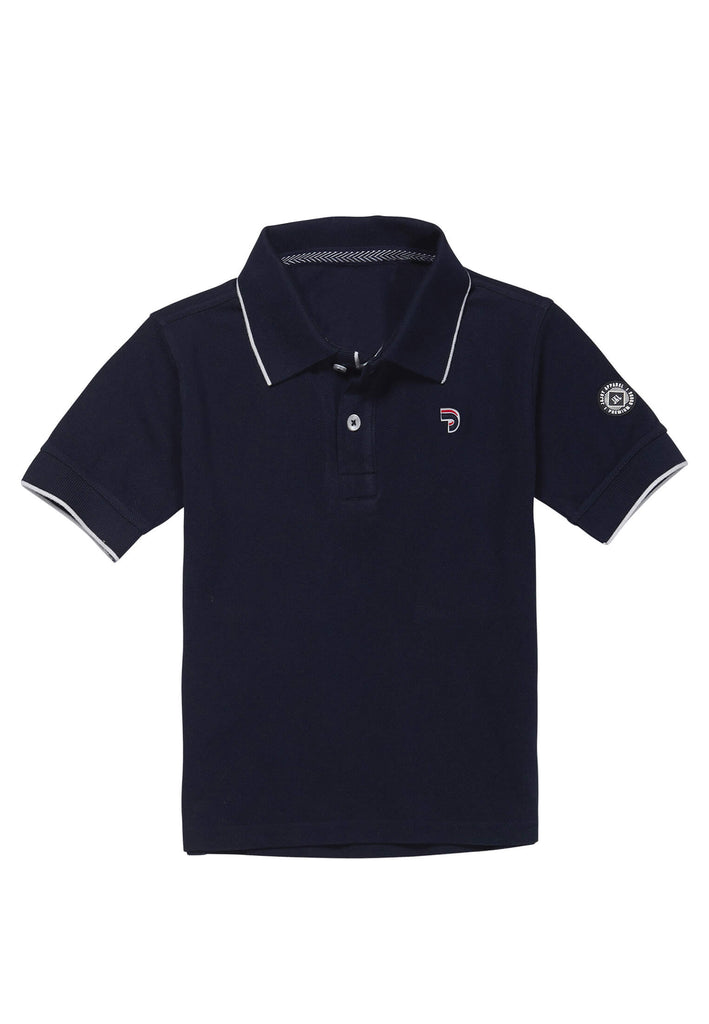 Polo Garçon 25 Bright Basics Navy
