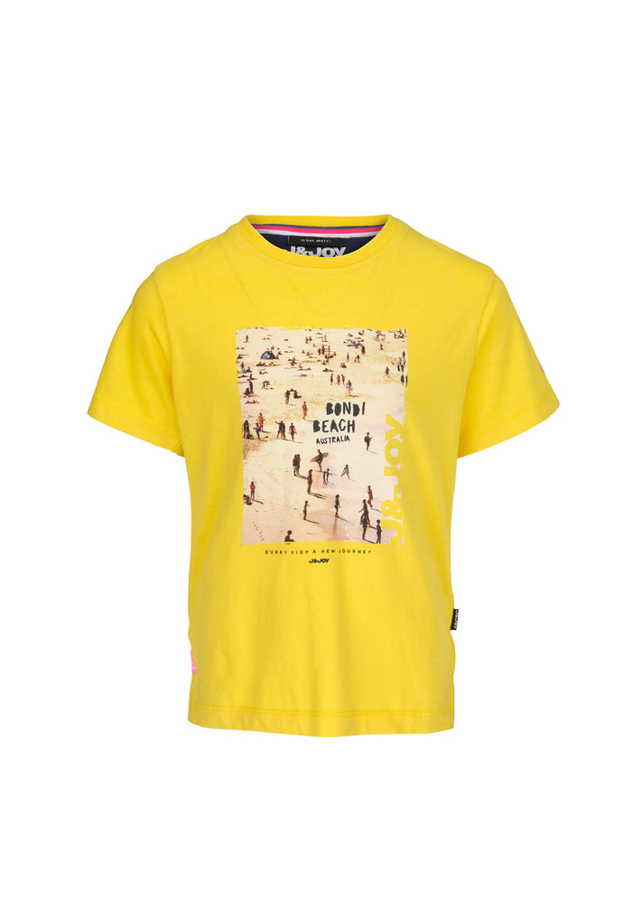 jandjoy | T-Shirts - T-Shirt Garçon 11 Byron Bay Yellow Beach.