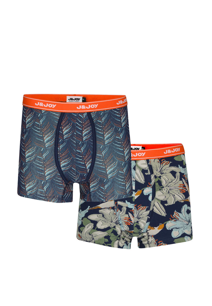 jandjoy | Sous-Vêtements - Duo-Boxers Homme 06 Cape Tribulation Birds.