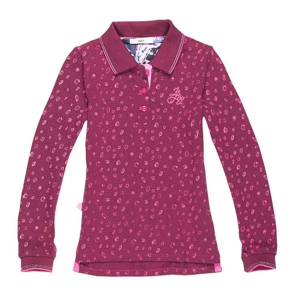 jandjoy | Polos - Polo Fille 02 Pink Diamonds.