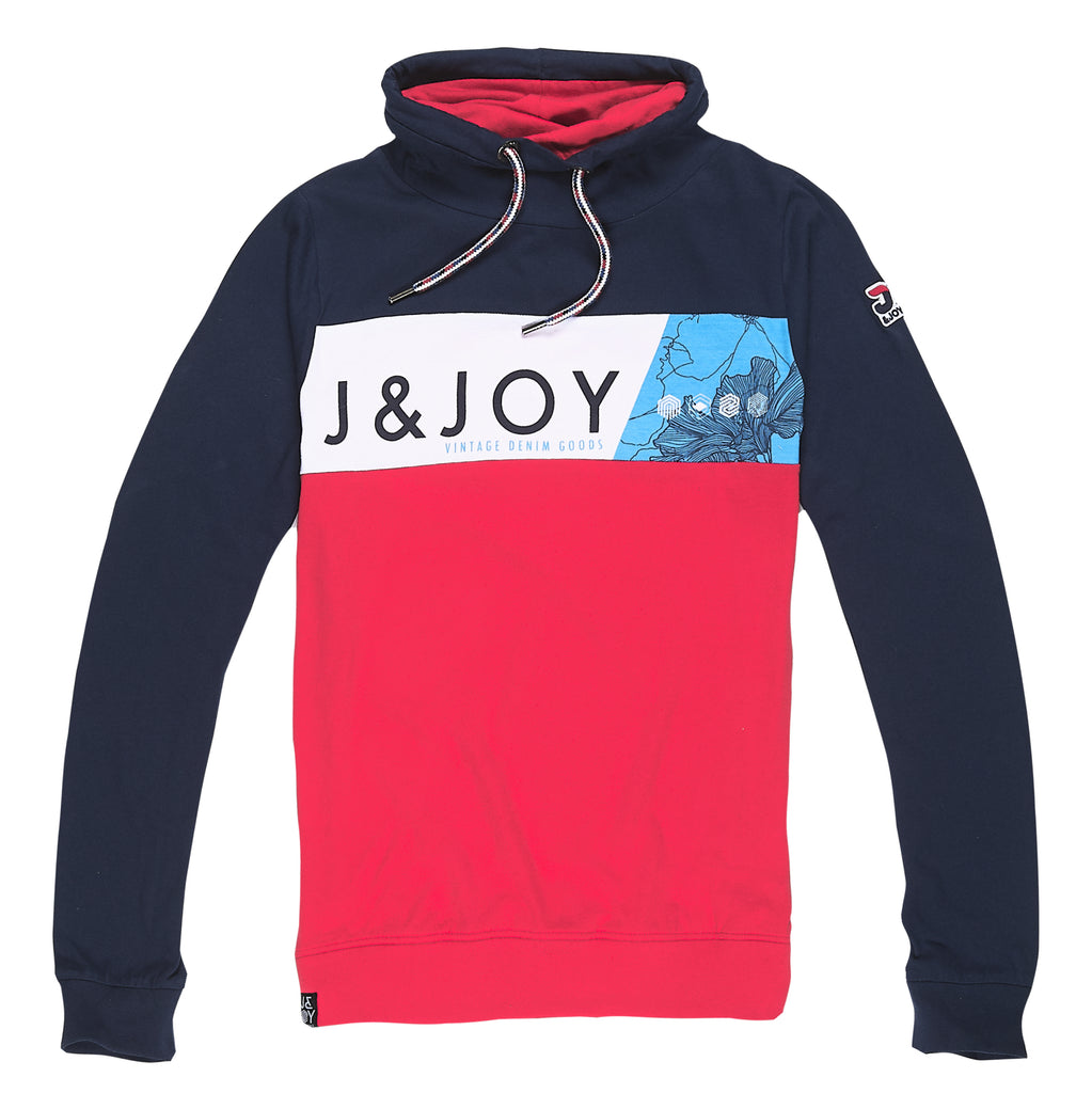 T-Shirt Homme 19 Blue & Red Icon | J&JOY