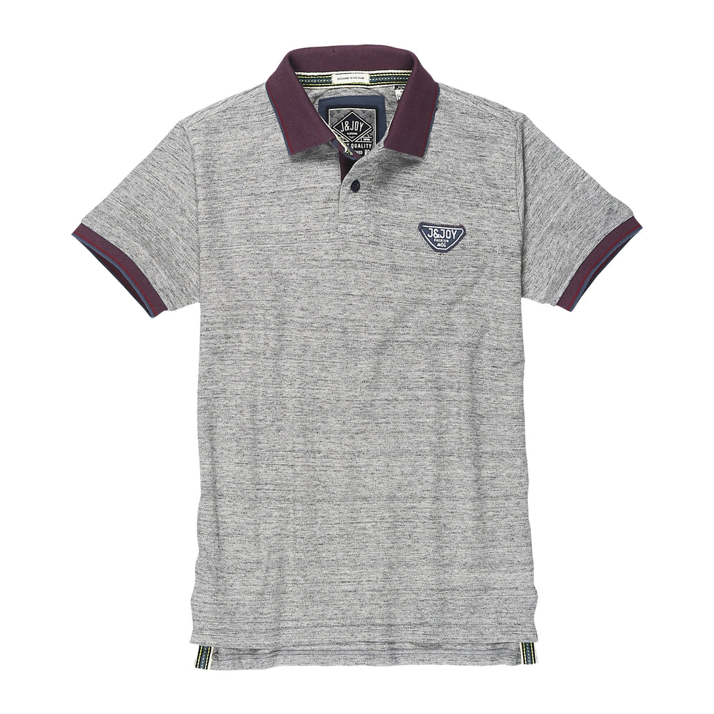Polo Homme 26 Grey Burgundy | J&JOY